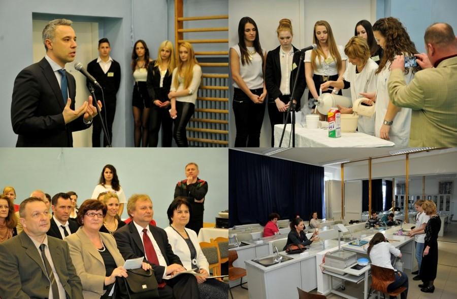 Bár már néhány hete folyik a tanítás a Kispesti Deák Ferenc Gimnázium  vadonatúj természettudományos laborjában 3ff89ba2c7